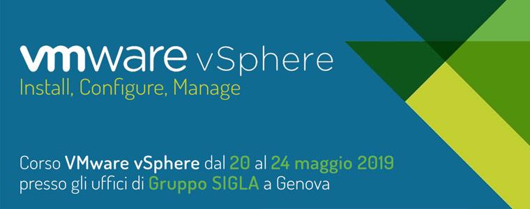 Corso VMware vSphere a Genova